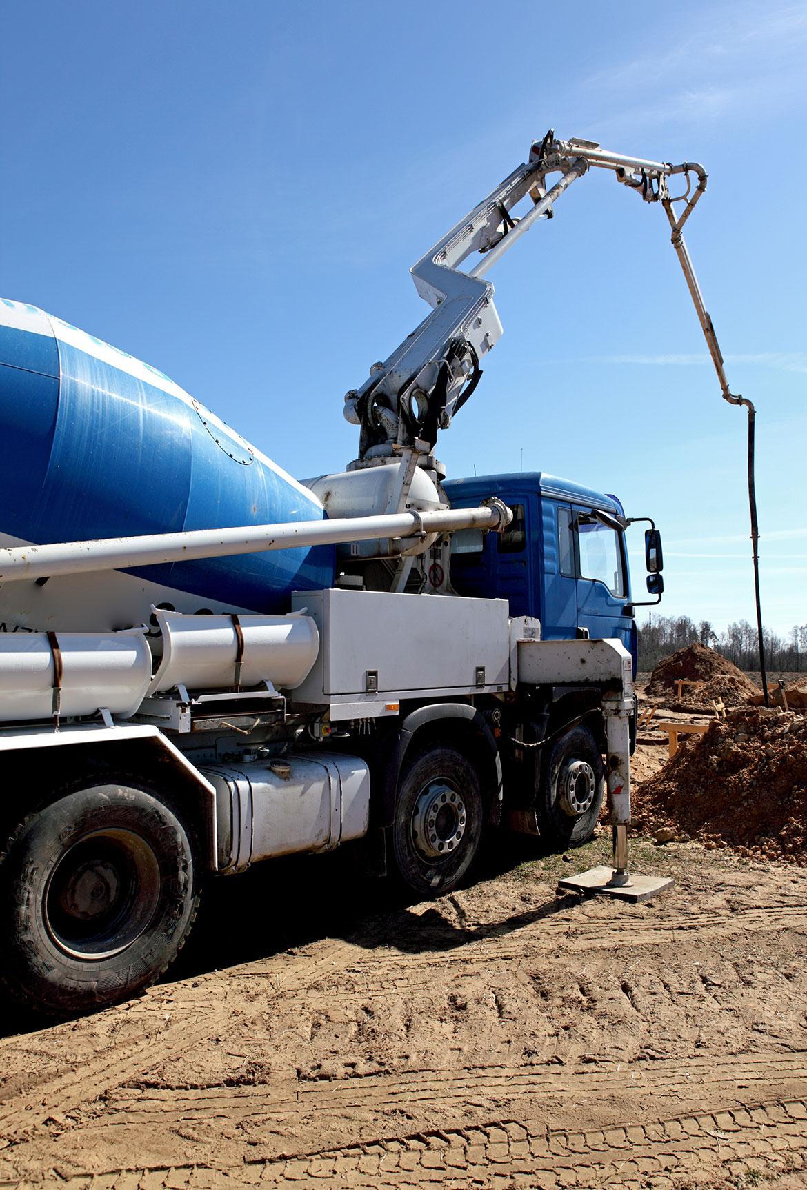betonwerken, Poolse arbeiders, Slowaakse onderaannemer