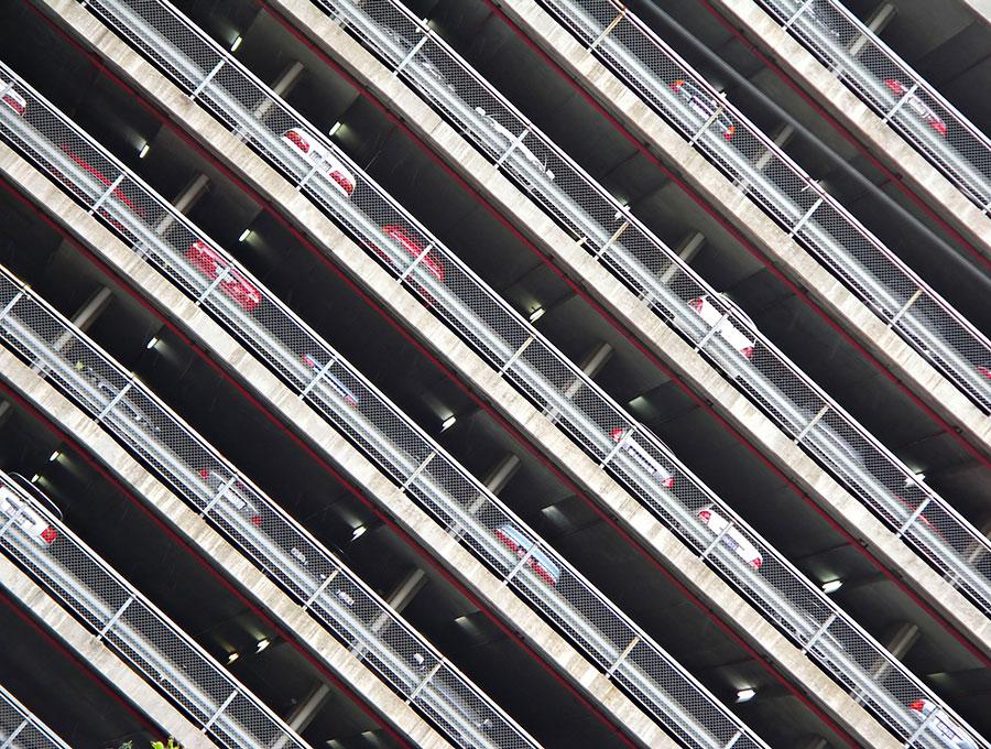 betonwerken voor torengebouwen met Slowaakse arbeiders
