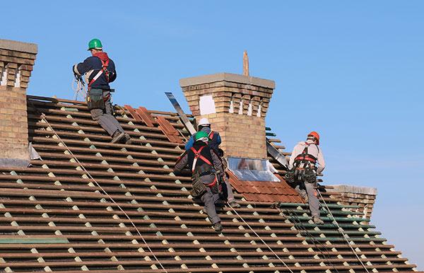 Roofworker Belgium