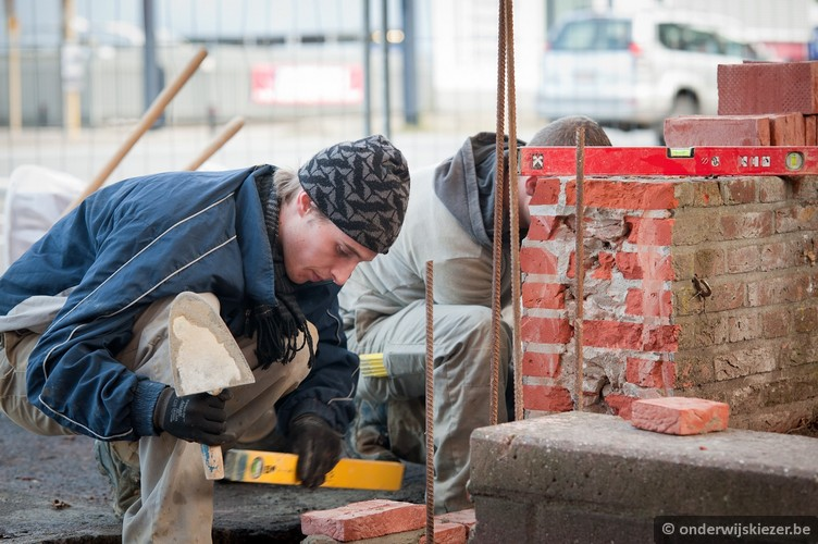 Brick layer working for BFY